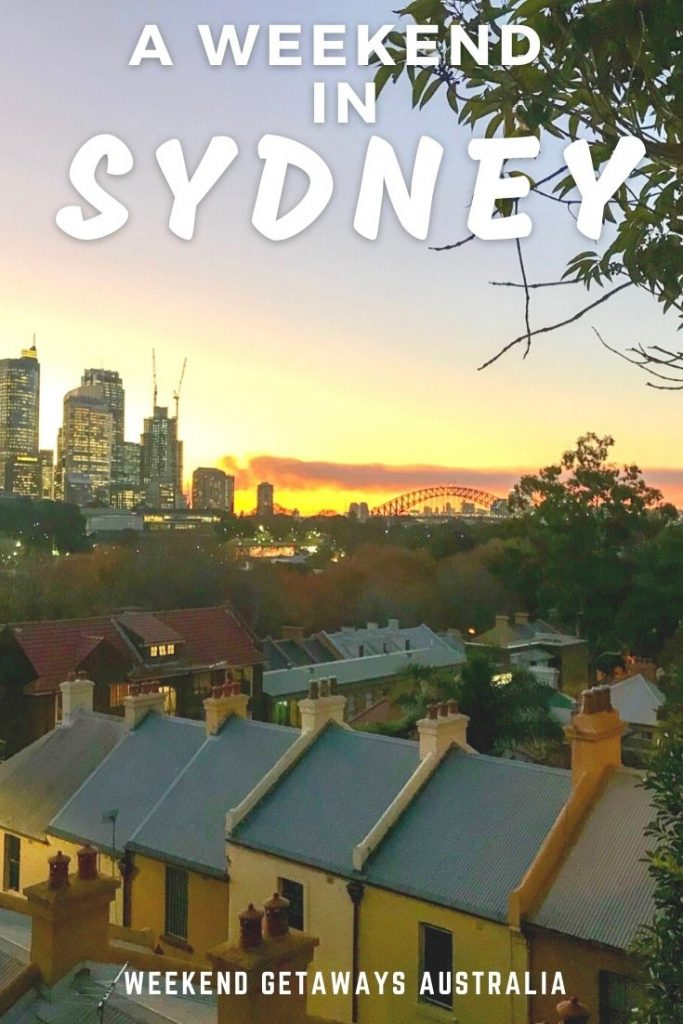 weekend in sydney