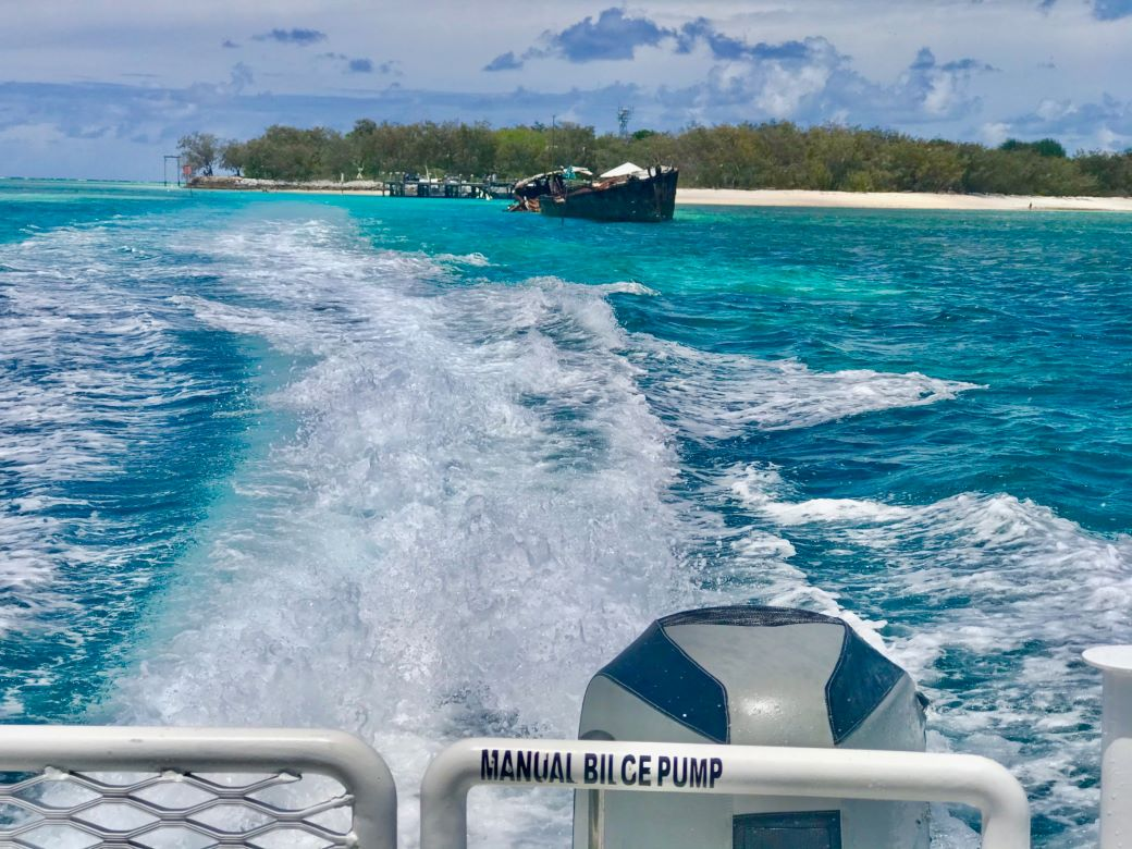 how to get to heron island